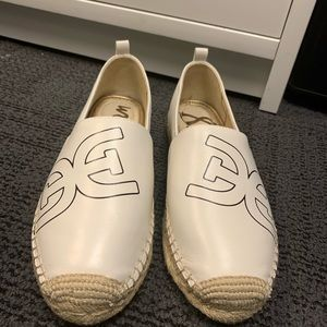 NEW Sam Edelman Khloe Logo Slip-On Espadrilles